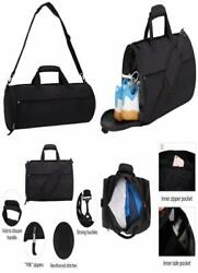 MIER Barrel Travel Sports Bag for Women and Men Small Gym with Shoes Compartment