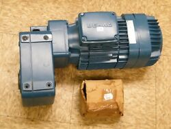 New Terex Demag Kba 90 B 4 Motor 2.90 Hp 1675 Rpm With Af06 Gear Box