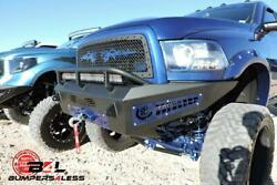 Add F517355000103 Honeybadger Winch Front Bumper For 2010-2017 Ram 2500/3500 Hd