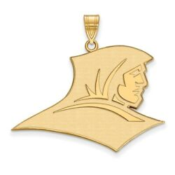 Providence College Friars School Mascot Pendant In 14k And 10k Yellow Gold