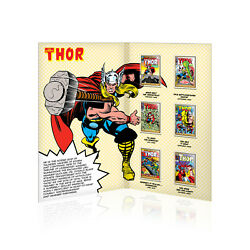 Mighty Thor Collectable Complete Superhero Gold Plated Ingot Collection Gift Set