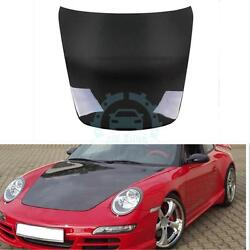 Auto Parts Engine Cover Bonnet Hood For Porsche 997 2005-2011 Carbon Fiber