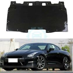 Engine Cover Mud Guard Floor Board For Nissan GTR R35 2008-17 Carbon Fiber Refit