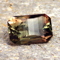 Green-copper Oregon Sunstone 6.75ct Flawless-for High-end Jewelry / Investment G