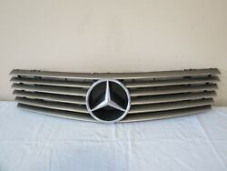 ✅ 90 91 92 93-02 Mercedes R129 COUPE CPE Front UPPER Radiator Bumper Grille OEM