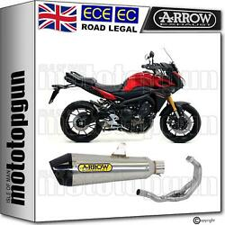 Arrow Full System Exhaust Cat X-kone Carby Nichrom Yamaha Mt 09 Tracer 2017 17