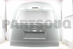 6700526S10 Genuine Toyota PANEL SUB-ASSY BACK DOOR 67005-26S10