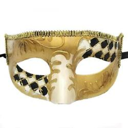 Rehoty Masquerade Masks for Men Vintage Venetian Mardi Gras Halloween...