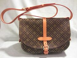 AUTH Louis Vuitton Monogram Flore Perforated Saumur Cruise 2012 Limited Edition