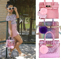 Trendy Kids Toddlers Fashion Purses for Little Girl Kid Crossbody Handbag Purse