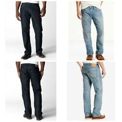 Leviand039s 559 Menand039s Jeans Wellington 46 48 50 52 Relaxed Straight Lt Or Dark 69.50