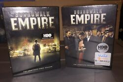 New Factory Sealed Boardwalk Empire Complete 1st And 2nd Season Dvd Sets