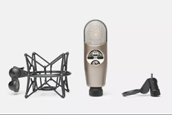 CAD M179 Variable-Pattern Condenser Mic NEW: Shockmount + Pop Filter + XLR Cable