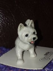 Westie 🐾 LITTLE CRITTERZ 🐈 Dog Miniature Figurine West Highland Terrier Bailey
