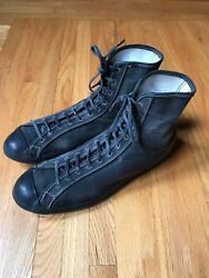 Old Converse Basketball Hightop Wrestling Shoes Sneakers Chuck Taylor Basketball