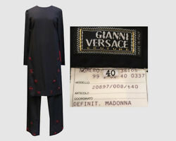 Reduced! Madonna Owned VERSACE  Two Piece  women's Tunic 28