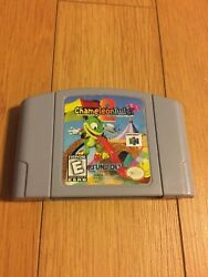 Chameleon Twist 2 Nintendo 64 100% authentic Tested and plays great !!