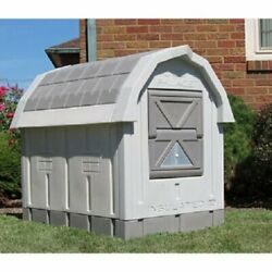 Heated Doghouse Outdoor Insulated Weather Medium Large Dog House Floor Heater