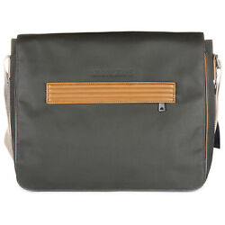 ARMANI JEANS MEN'S CROSS-BODY MESSENGER SHOULDER BAG NEW GREEN F8C