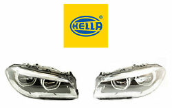 New Bmw Pair Set Of Left And Right Led Headlights Hella