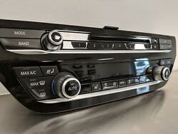BMW Radio and Climate Control Panel - 5 Series
