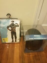 Fortnite Dark Voyager Jumpsuit And Helmet Halloween Costume Adult Size Small Rare