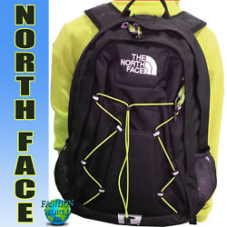 The North Face Jester Laptop Backpack School Bag BlackYellow