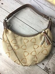 LIZ CLAIBORNE - Tan Brown Small Hobo Style Designer Bag Purse Handbag BNWT