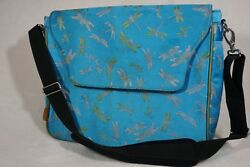 DARCI Designer Dragonfly Messenger Bag MSRP $299.00