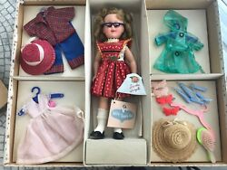 Shirley Temple Vintage Doll Gift Set | In Original Gold Star Box From 1950s
