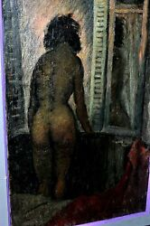 Listed Pierre Dubreuil French Post-impressionist Vintage Oil/canvas Signed.