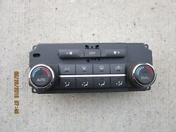07 - 09 NISSAN QUEST SE SL  AC HEATER CLIMATE TEMPERATURE CONTROL 27500-ZF90A