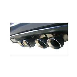 Corsa 3.0 Cat-back Dual Rear Exit Twin 4.0 Polished Tip For Chevy Corvette