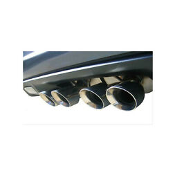 Corsa For 12-13 Chevrolet Corvette C6 Zr1 6.2l V8 Polished Dual Rear 14164cb3
