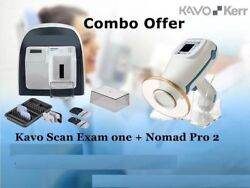 Combo Offer KaVo Scan eXam One and NOMAD Pro2 Handheld Portable X Ray