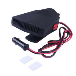 1 X 200W 20A Car Vehicle Portable Ceramic Heating Heater Fan Defroster Demister
