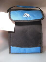New with Tag Igloo Bag It Cooler Bag 5 Cans Gray Blue $15.99