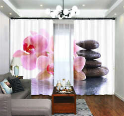 Gooseberry Droplets 3D Curtains Blockout Photo Printing Curtains Drape Fabric