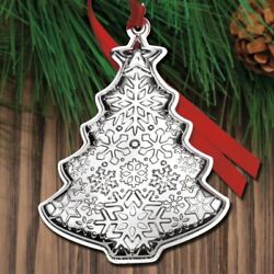 2018 Gorham Christmas Tree 2nd Edition Annual Sterling Ornament - New