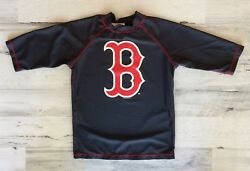 BOSTON RED SOX GRAPHIC SHIRT MLB GENUINE MERCHANDISE YOUTH SMALL NAVY BLUE  $6.78