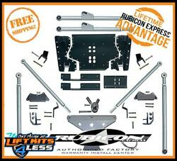 Rubicon RE7531 ED Long Arm Rear TriLink Suspension Upgrade Kit for 97-06 Jeep TJ