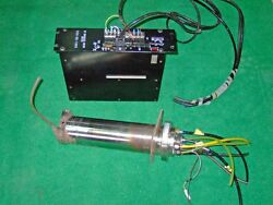 Yaskawa Air Bearing High Speed Spindle + DC BRUSHLESS MOTOR Driver BSD-09-1000