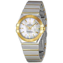 Omega Constellation Mother of Pearl Ladies Watch 123.20.27.60.05.004