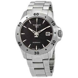 Tissot V8 Automatic Black Dial Menand039s Watch T1064071105100