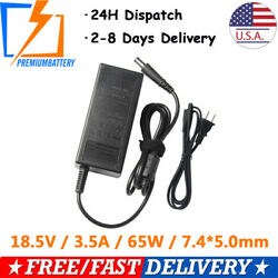 Lot AC Adapter Charger for HP Pavillion dv4 dv5 dv6 dv7 g60 Power Supply+Cord