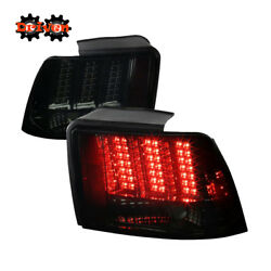 Ford Mustang 99-04 Gt Base V6 V8 Saleen Sequential Led Tail Lights Smoked Tint