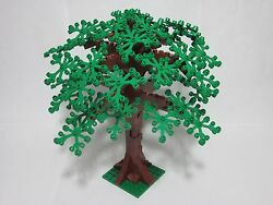 Custom Forest Tree 9 Tall For Lego, Green Leaves, All New Parts, Free Us Ship