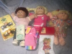 Cabbage Patch doll lot original dolls outfits stocking sunglasses