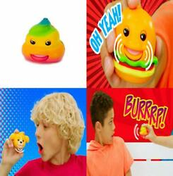 Mojimoto Rainbow Poo Repeating Talk-back Toy That Records And Repeats And...