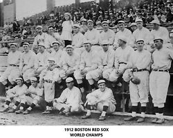 1912 BOSTON RED SOX 8X10 TEAM PHOTO BASEBALL PICTURE WORLD SERIES CHAMPS MLB